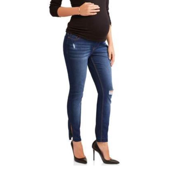 2819aeb007351 Liz Lange for Target Jeans | 2 For 50 Womens Distressed Maternity ...